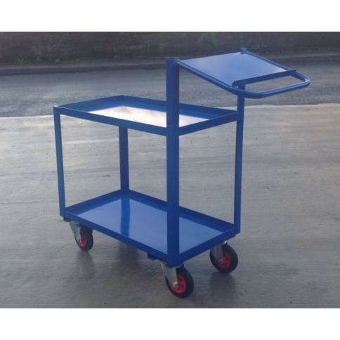 OPT109 - Order Picking Trolley with Writing Shelf