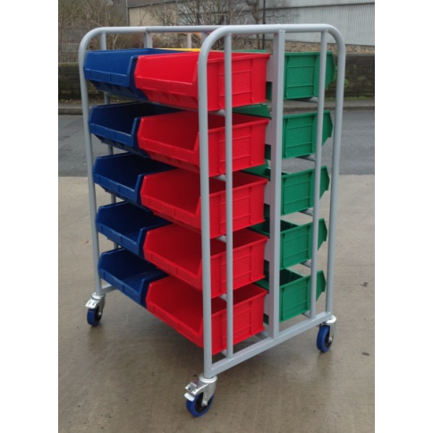 SPS03:  Double Sided Small Parts Picking Trolley