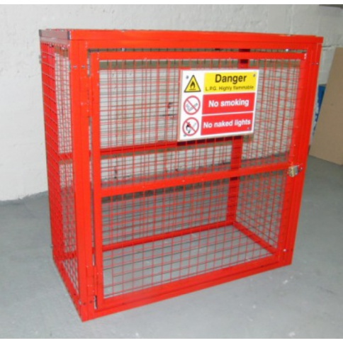 BC2 - Gas Cylinder Storage Cage 1064 x 500 x 1532 mm