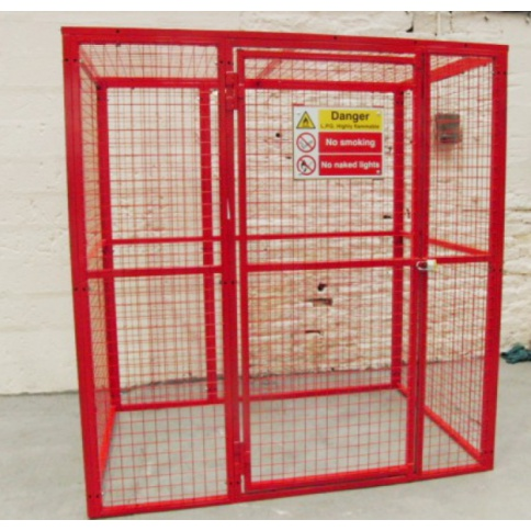 BC7 - Gas Cylinder Storage Cage 2064 x 1000 x 2054 mm