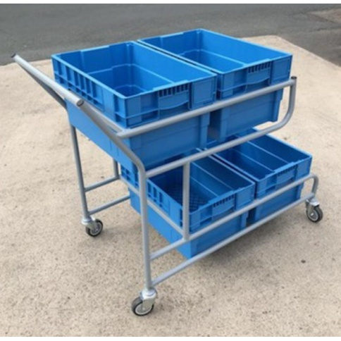 OPT107 - Quad Container Picking Trolley