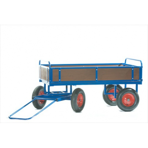 BTT1/T - Turntable Truck 1500 x 700 mm, with Wooden Sides