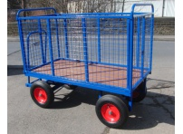 BTT3/M - Turntable Truck 1500 x 800 mm, with Mesh Sides