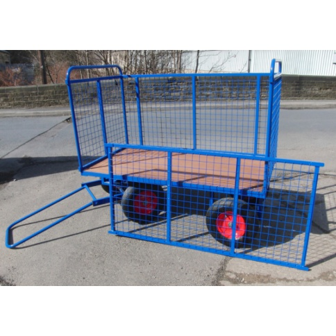 BTT2/M - Turntable Truck 1220 x 700 mm, with Mesh Sides