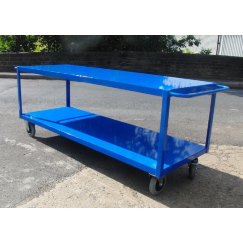 TTC3/S - Table Top Cart, 1600 x 800 mm, Steel Shelf, 1000 KG