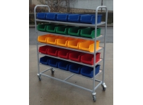 SPS04:  Small Parts Stock Trolley