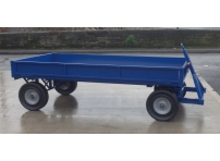 TT7DS:  2440 x 1220 mm, 2500 KG Turntable Truck with Drop Sides