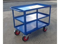TTC2/SL - Table Top Cart, 1000 x 600 mm, Steel Shelves with Lip