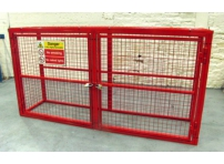 BC3 - Gas Cylinder Storage Cage 2064 x 500 x 1032 mm