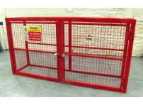 BC3 - Gas Cylinder Storage Cage 2064 x 500 x 1032 mm