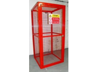 BC6 - Gas Cylinder Storage Cage 1064 x 1000 x 2054 mm