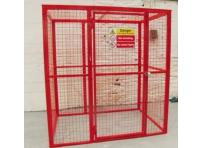 BC7 - Gas Cylinder Storage Cage 2064 x 1000 x 2054 mm