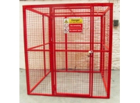 BC8 - Gas Cylinder Storage Cage 1564 x 1500 x 2054 mm