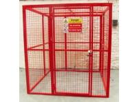BC8 - Gas Cylinder Storage Cage 1564 x 1500 x 2054 mm