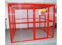 BC9 - Gas Cylinder Storage Cage 2064 x 2000 x 2054 mm