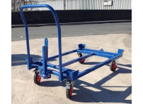 PD800TH:  Pallet Dolly 1200 x 800 mm, Towable with Push Handle