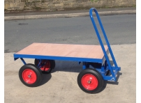 TT1 - 1000 kg Capacity, Solid Rubber Wheels, 1220 x 610 mm