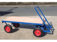 TT2 - 1000 kg Capacity, Solid Rubber Wheels, 1525 x 700 mm