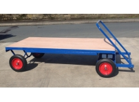 TT3 - 1000 kg Capacity, Solid Rubber Wheels, 2000 x 1000 mm
