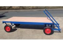 TT3 - 1000 kg Capacity, Solid Rubber Wheels, 2000 x 1000 mm