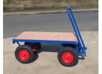 TT4 - 1000 kg Capacity, Pneumatic Wheels, 1220 x 610 mm