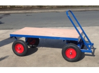 TT5 - 1000 kg Capacity, Pneumatic Wheels, 1525 x 700 mm