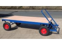 TT6 - 1000 kg Capacity, Pneumatic Wheels, 2000 x 1000 mm