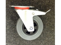 125 mm Swivel Braked Castor