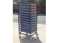 EC01 - Euro Container Trolley 1375 mm High