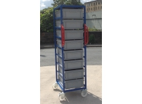 EC02 - Euro Container Trolley 1685 mm High