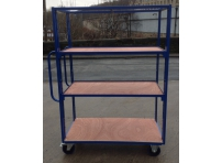 SH130 - 1000 x 600 mm Adjustable Shelf Trolley
