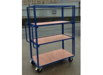 SH140 - 1220 x 600 mm Adjustable Shelf Trolley