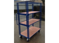 SH150 - 1220 x 800 mm Adjustable Shelf Trolley