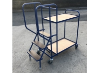 SOPT01 - Stepped Picking Trolley 3 Step, 2 Tier