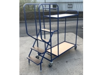 SOPT02 - Stepped Picking Trolley, 4 Step, 2 Tier