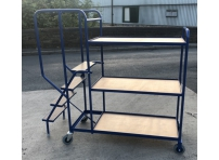 SOPT03 - Stepped Picking Trolley, 4 Step, 3 Tier