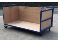 PT401 - 3 Sided Platform truck, 2030 x 1015 x 830 mm Internal