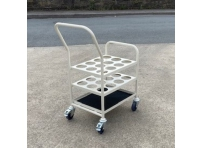 MGCT03 - Medical Cylinder Trolley for 12 x D/E size Oxygen Cylinder