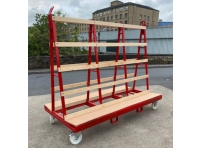 LGWT2 - Liftable A Frame Glass Trolley 2400 x 1200 x 2000 mm