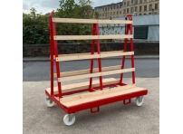 LGWT1 - Liftable A Frame Glass Trolley 1800 x 1200 x 1800mm