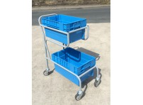 OPT108 - Twin Container Picking Trolley