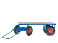 BTT2 - 1220 x 700 mm, Pneumatic Turntable Truck