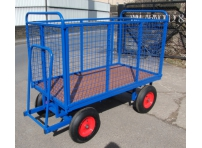 BTT1/M - Turntable Truck 1500 x 700 mm, with Mesh Sides