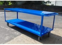 TTC3/S - Table Top Cart, 1600 x 800 mm, Steel Shelf, 1000 KG