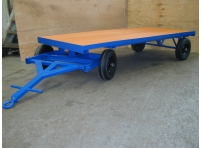 TT7 - 2500 kg Capacity, Solid Rubber Wheels, 2450 x 1200 mm